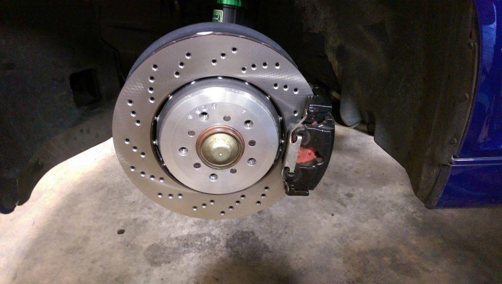 BMW brake rotors and pads